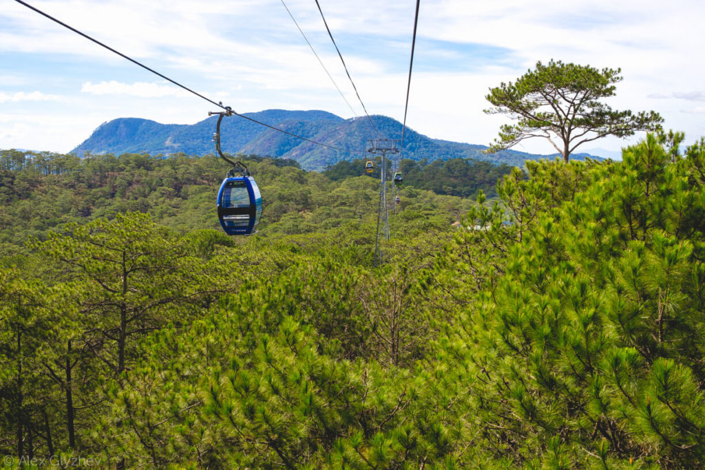 56. Cable car.
